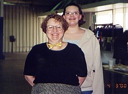 Sara Pine & Grand Daughter