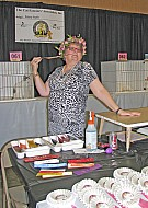 Mary Auth Judge Topeka Cat Show 9-5-15