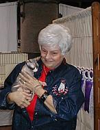 Joann with Sphynx #1