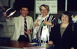 Tom & Illa Migut, Buster, and Boris Teron