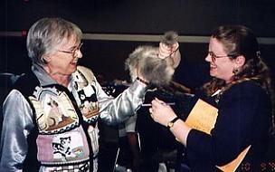 Pat Bergman & Nikki Crandall-Seibert Sexing a Kitten