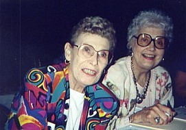 Hazel Lindstrand and Norma Jean Bromwell