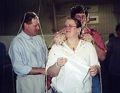 Rick Hoskinson, Nikki & Cory Crandall-Seibert