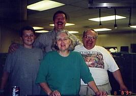 Gradowski Kitchen - Jeff, Chuck, Barb and Ralph Weber
