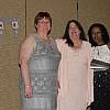 Cathy Dunham, Lucy Drury, and Kathy Calhoun