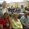Margaret Garner, Shelly Frank,  Mary Wheeler, and John Burbacher
