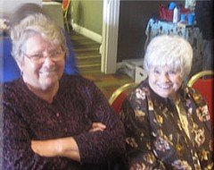 Sandy Drummond and Joanne Moehlman