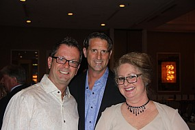 Cary Plummer, Randy Pohlman, and LeeAnn Meurer