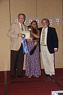 Chuck Gradowski and Nancy & John Hitzeman with GPD, NW Acadiacoons Franklin Lodge