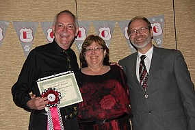 Gary Powell and Joann & Jon Brubacher