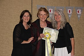 Patty Jacobberger, Allene Keating and Robin Bryan