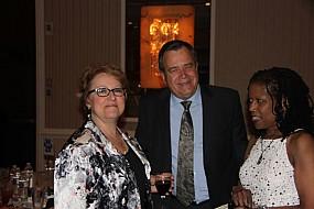 Rachel Anger, Kenny Currle, and Kathy Calhoun