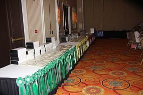 Regional Awards Table