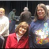Sherrie Phelps and Lucy Drury