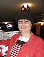Wichita Cat Show 1-30- 2-1-2004 - Patti DeWitt Shows off her