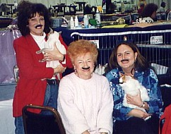 Barb Klusman, Jan & Bee Poole