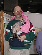 Todd with Piglet