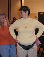 On The Road Patti DeWitt & Robin Bryan at lucky Tomcat Show