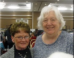 Carol Fengel and Mary Jane Tesdall