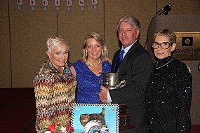 Donna Zimmerman, Pam & Rick DeGolyer, and Ruth West