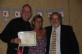 Gary Powell and Nancy & John Hitzeman