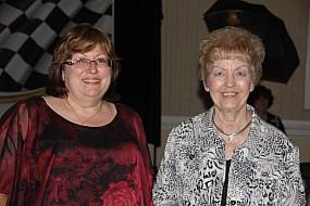 Joann Brubacher and Mary Wheeler
