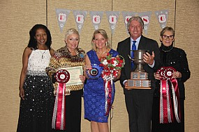 Kathy Calhoun, Donna Zimmerman, Pam & Rick DeGolyer, and Ruth West