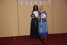 Kathy Calhoun and Mary Clemens