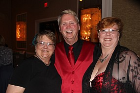 Mary Auth, Brian Pearson, and Jackie Bennett