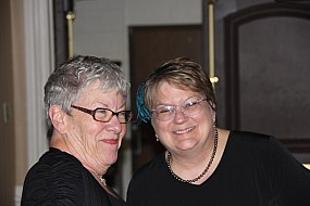 Mary Auth and Bobbie Weihrauch