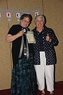 Mary Auth and Helen Negri